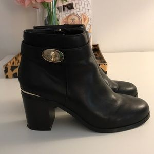 "Topshop ""be mine"" ankle booties"